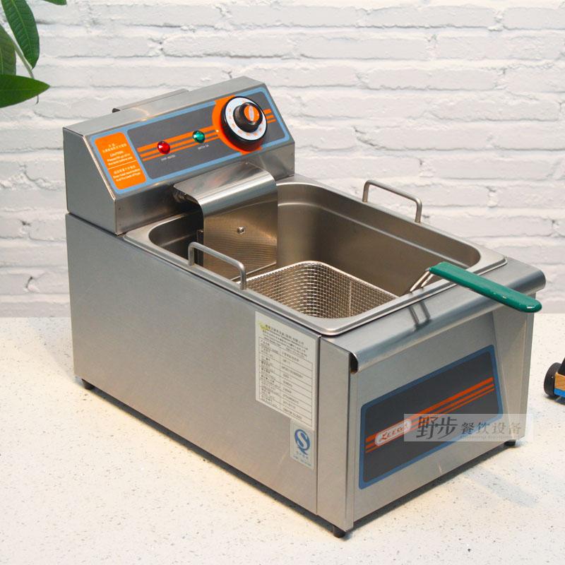 裕富宝 利高LEEGO 经济型单缸电炸炉MF-11 304不锈钢加厚炸炉