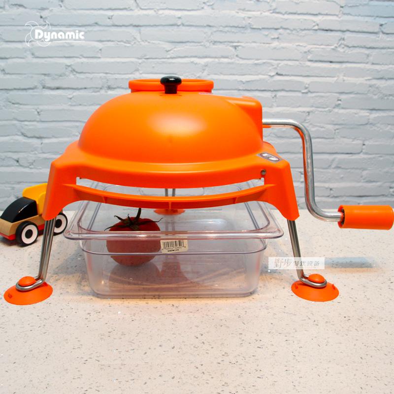 法国Dynamic动力Dynacoupe手动切片机切丝机 手摇式蔬果切片切丝