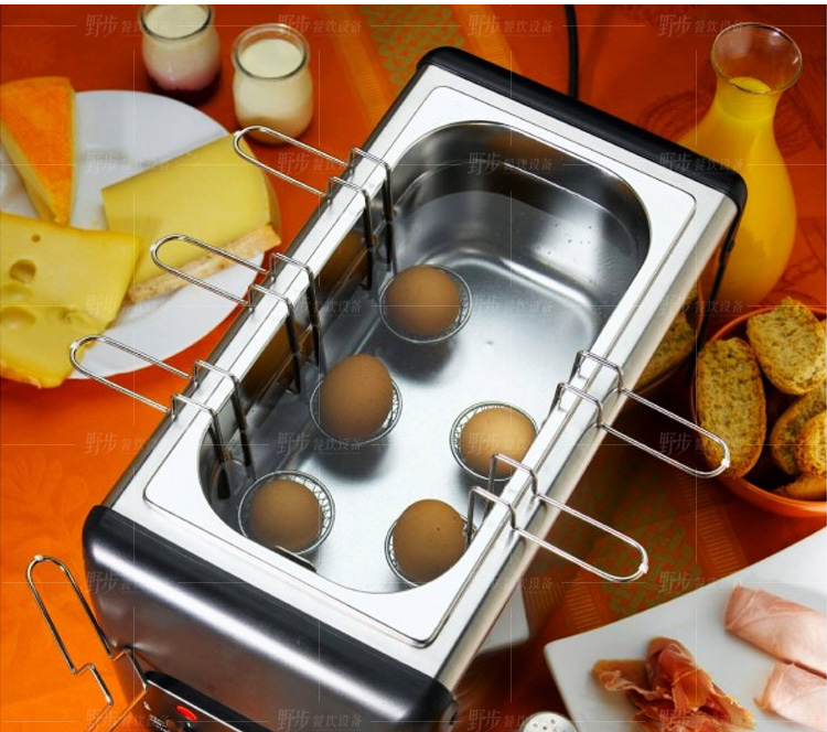 法国进口乐侨ROLLER GRILL CO60不锈钢蒸蛋器煮鸡蛋器煎蛋器