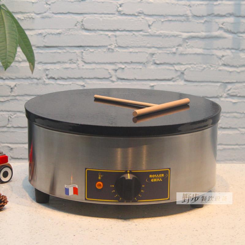 法国进口乐侨ROLLER GRILL CFE400单头圆型班戟炉薄饼机 可丽饼机