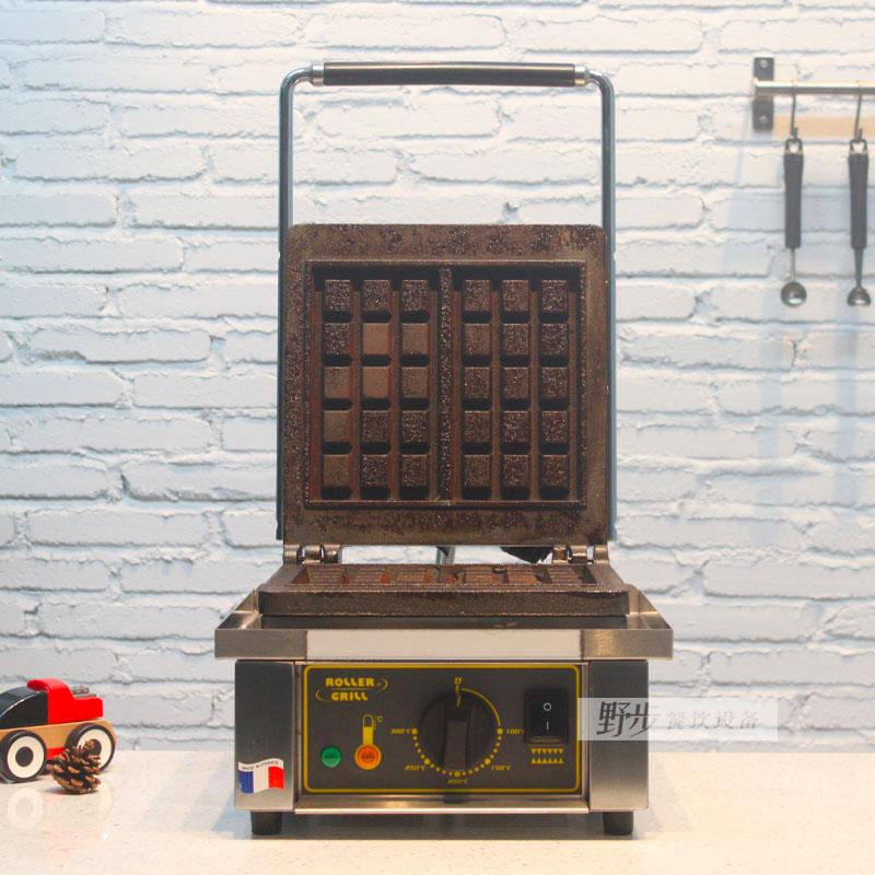 法国进口乐侨ROLLER GRILL GES10高端华夫饼机松饼机蛋糕机早餐机