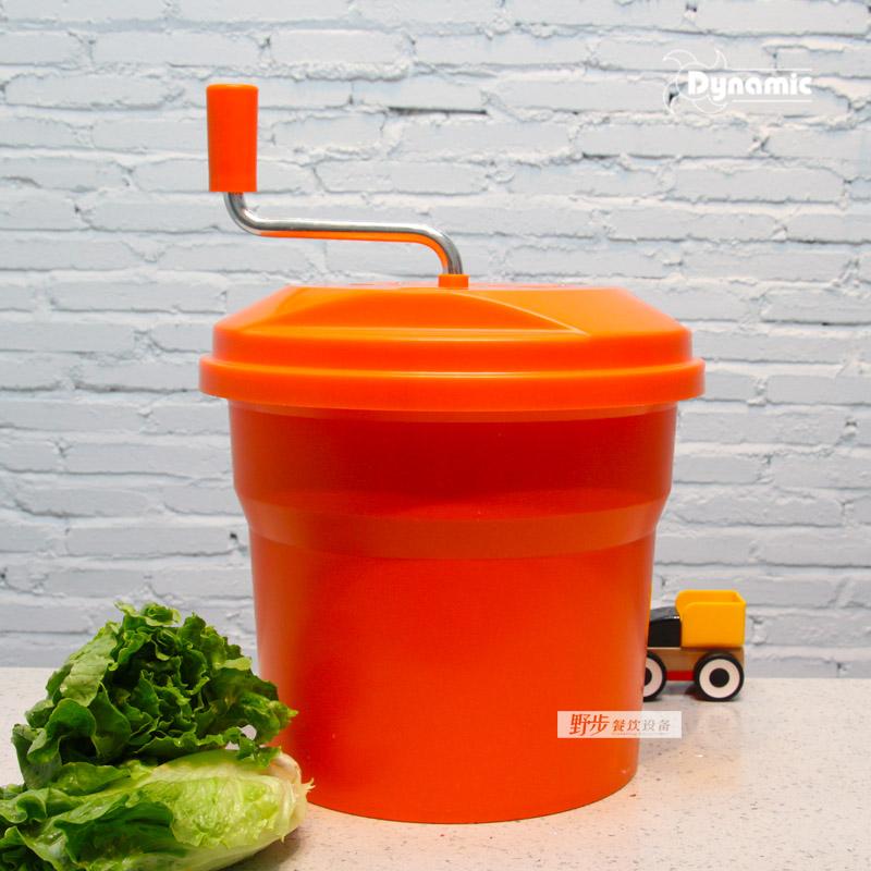 法国动力Dynamic手摇沙拉脱水器 蔬菜甩干桶 生菜甩干色拉桶10L