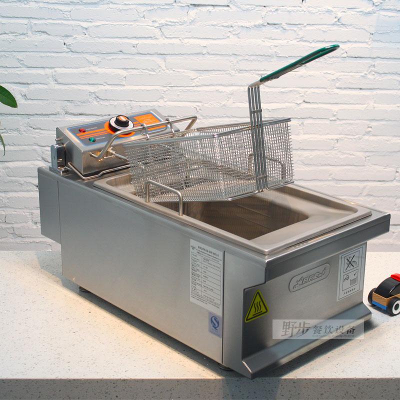 裕富宝 利高牌LEEGO 重型单缸电炸炉LF-15K 加厚商用进口电炸炉