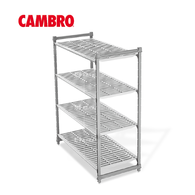 美国cambro勘宝 置物架厨房 耐低温冷库 仓储货层架CBU244872V4