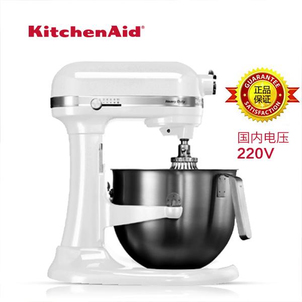 美国KITCHENAID厨宝搅拌机7QT商用厨师机5KSM7590和面机打蛋机