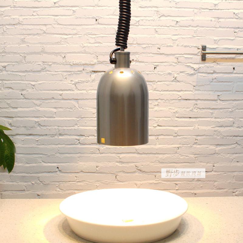 美国HATCO赫高 红外线装饰型保温灯DL-400-RL(银色) 暖食照明灯
